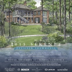 2015 Serenbe Atlanta Homes & Lifestyles Designer Showhouse