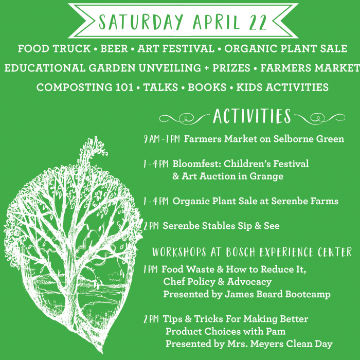 Celebrate Earth Day at Serenbe