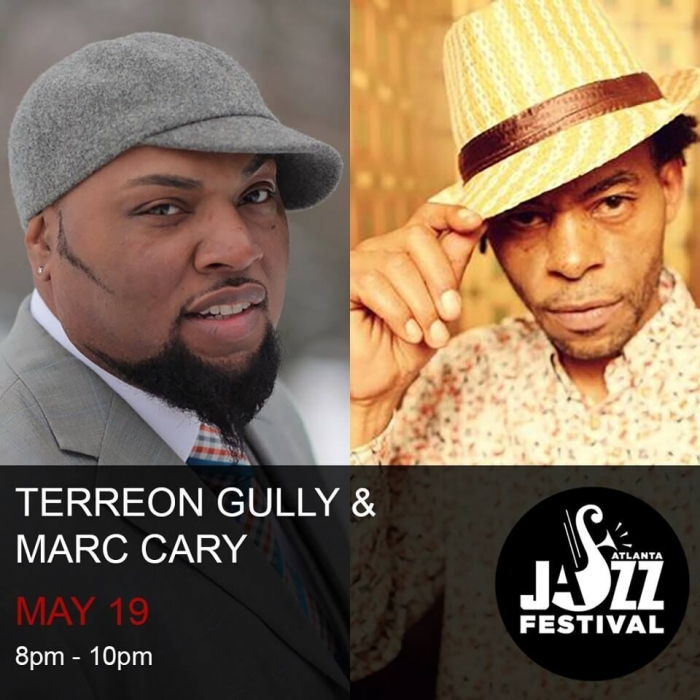 "Atlanta Jazz Fest: Terreon Gully & Marc Cary ""Sticks and Tones"""