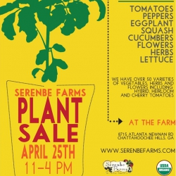 Serenbe Farms Plant Sale