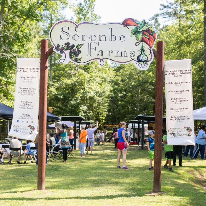 serenbe | events | farmers & artists market: 4th of july celebration